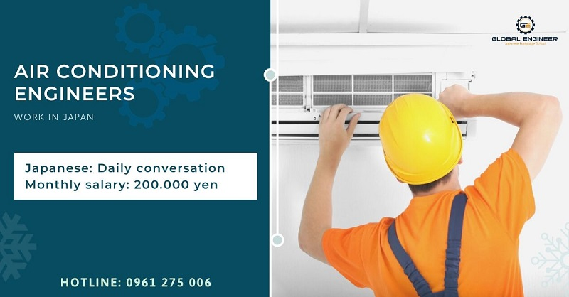 Water and air conditioning engineers in Shizuoka