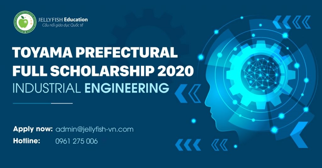 Toyama prefectural full scholarship 2020 on Engineering