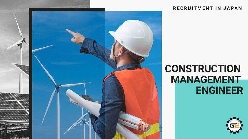 [KT200426] Construction Management Engineer