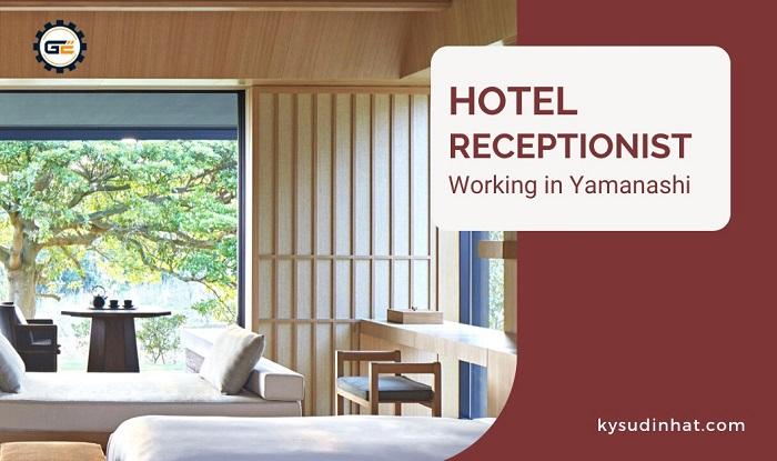 [KS071015] Hotel receptionist working in Yamanashi