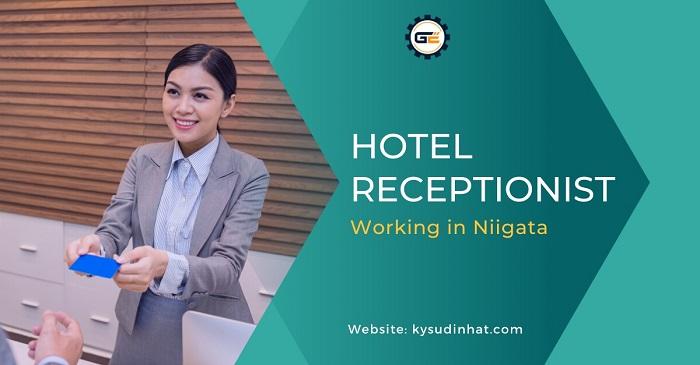 [KS080913] Hotel receptionist working in Niigata